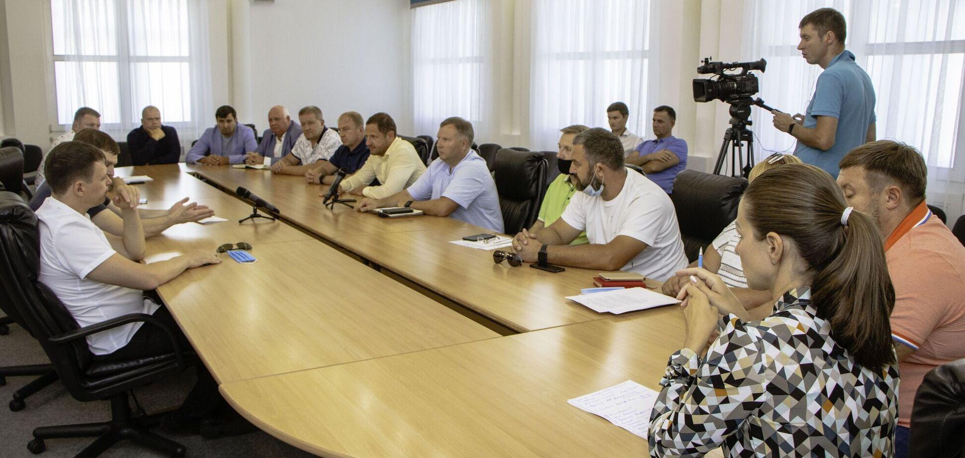 В Днепровском городском совете состоялось заседание комиссии Общественного контроля