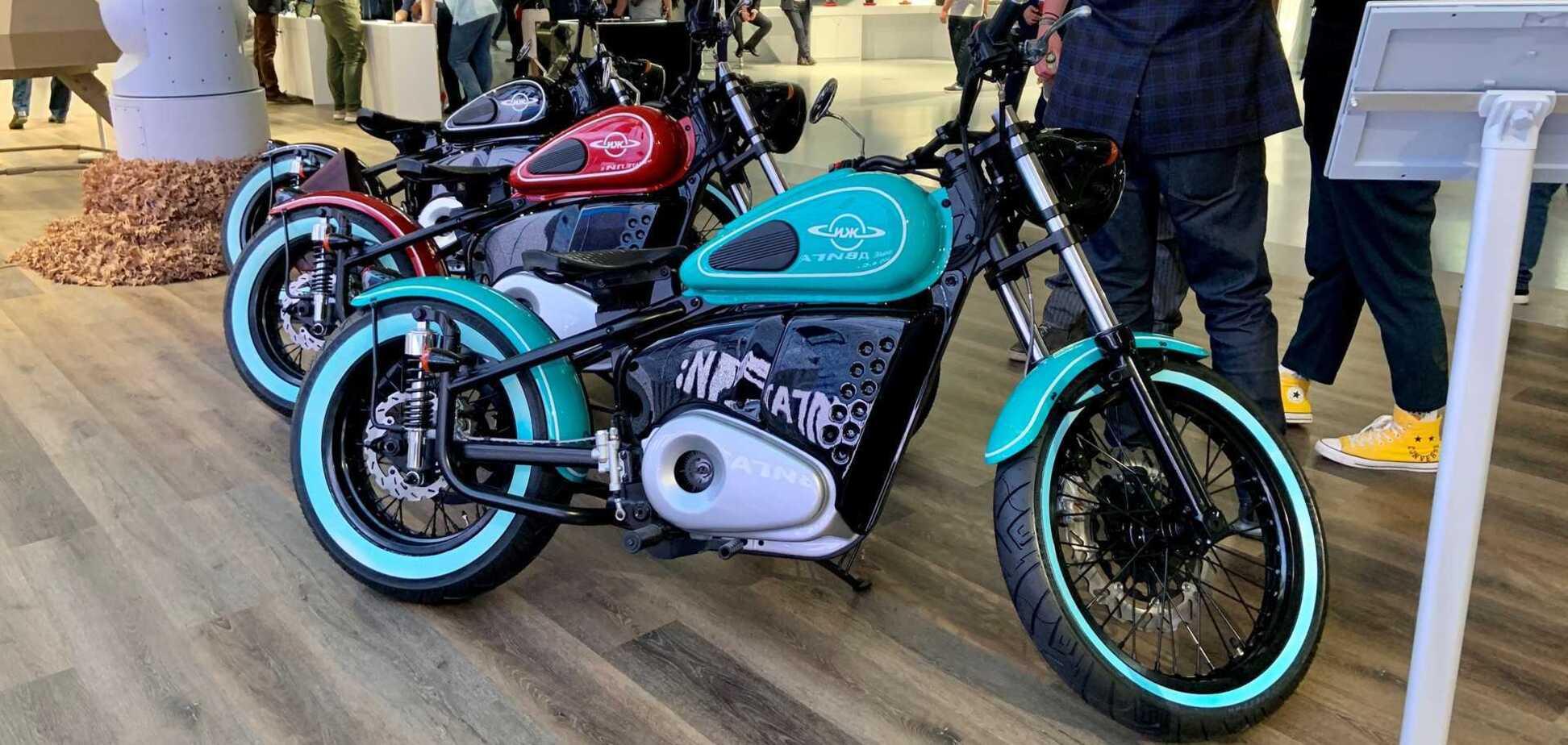 'Калашников' показав електричний мотоцикл. Фото: motor1.com