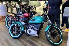 'Калашников' показал электрический мотоцикл. Фото: motor1.com