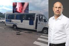 Під Харковом розстріляли з автоматів автобус із людьми Киви