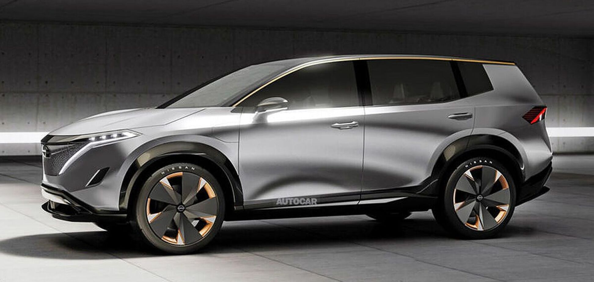 Nissan готує великий електричний SUV. Фото: autocar.co.uk