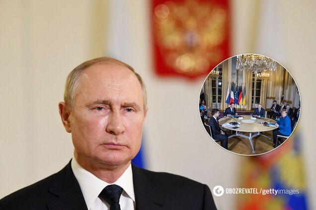 У Путіна заявили, що зустріч 'нормандської четвірки' потрібно ще готувати
