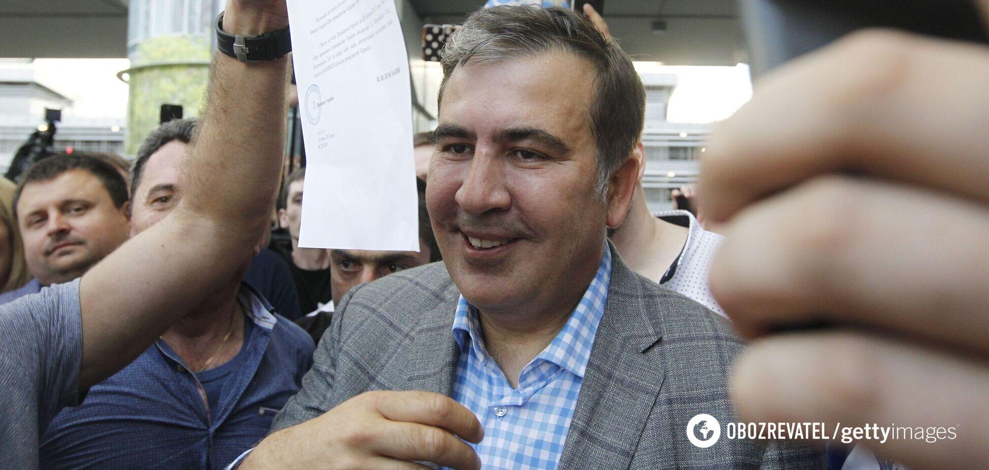 Экс-президент Грузии Михеил Саакашвили