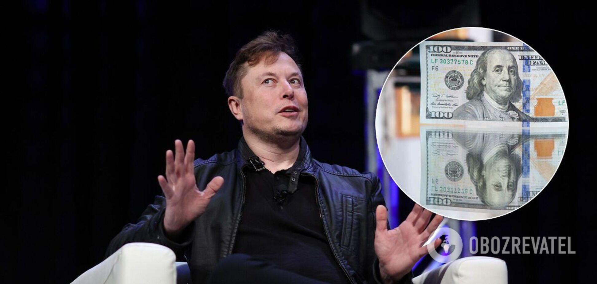 Статок Маска з початку року виріс учетверо: завдяки чому розбагатів