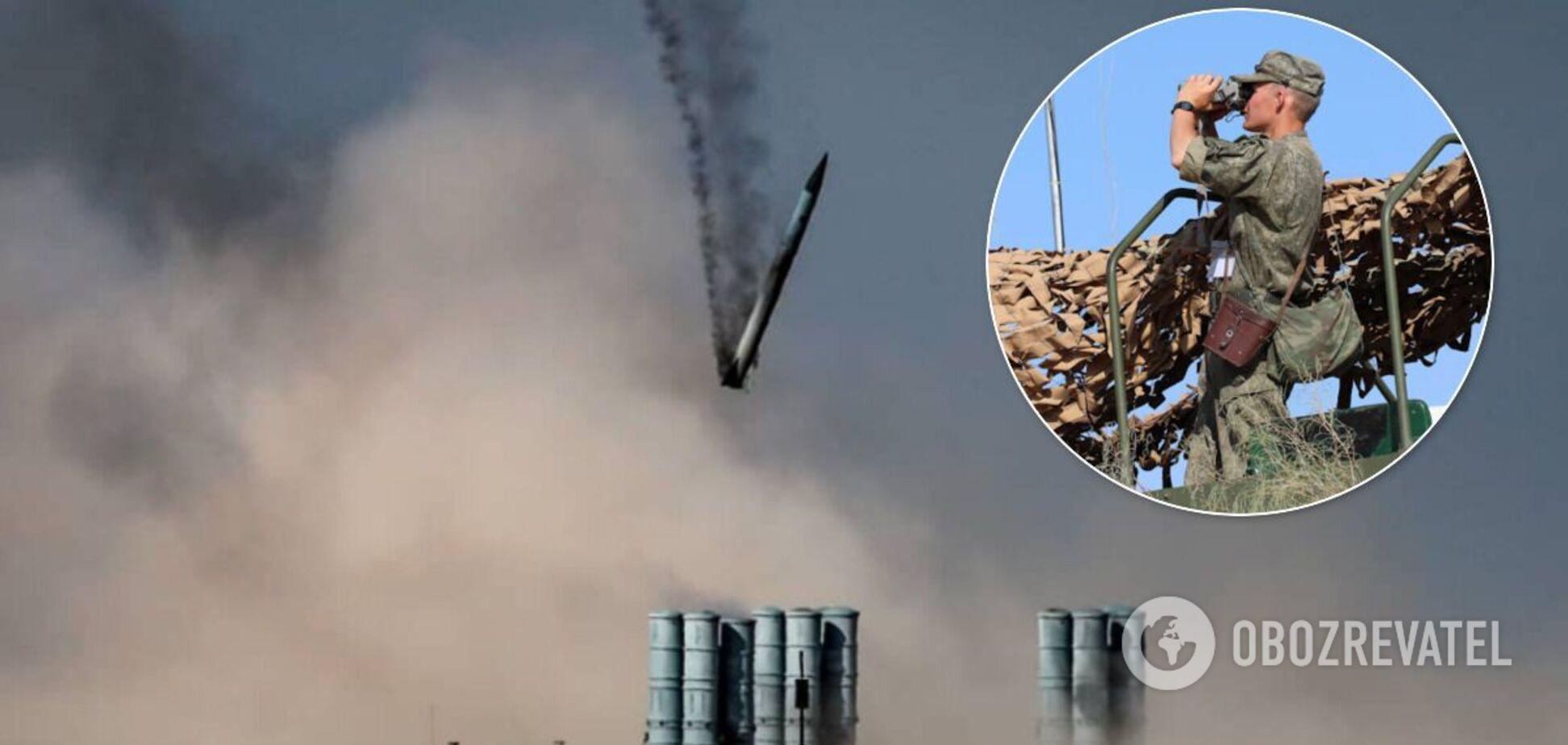 В Астраханской области упала ракета комплекса С-400