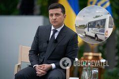 Зеленський прокоментував напад на автобус ОПЗЖ