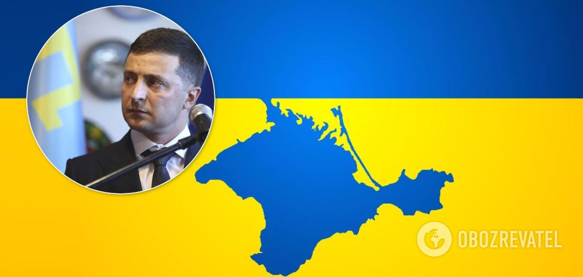 Окупант Криму висунув умову Володимирові Зеленському