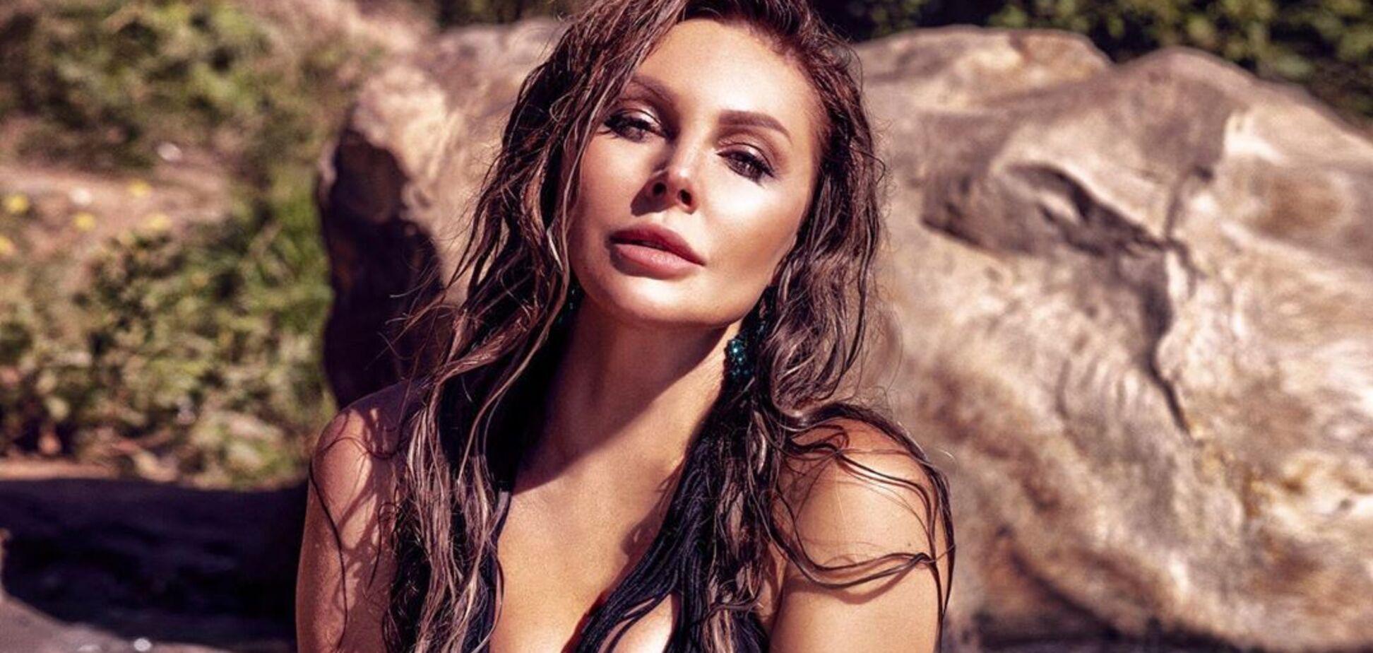 40-летняя Бочкарева засветила пышную грудь без белья. Фото