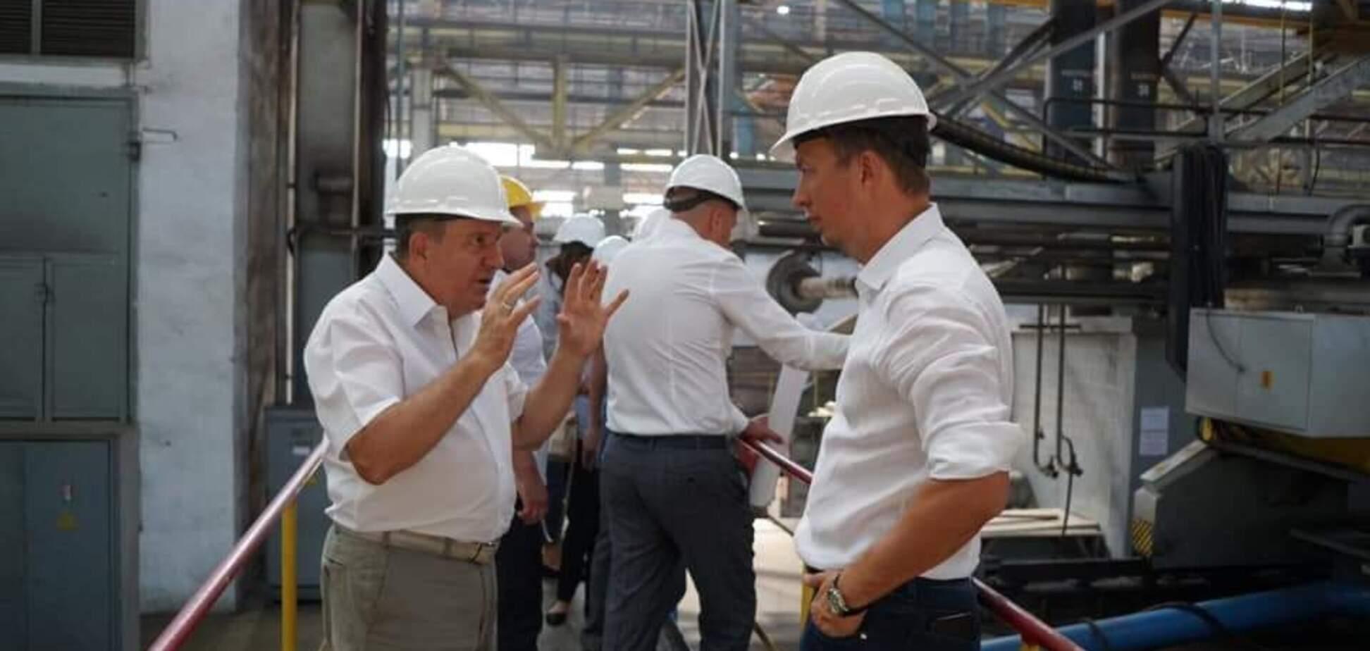 Ніколаєнко відвідав завод 'Океан'