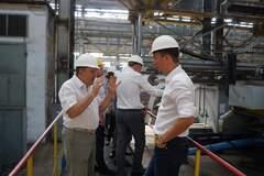 Николаенко посетил завод 'Океан'