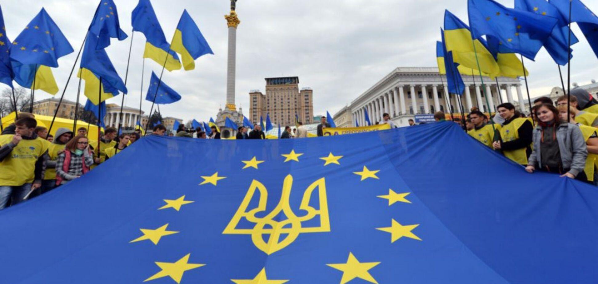 Украина и ЕС. Иллюстрация