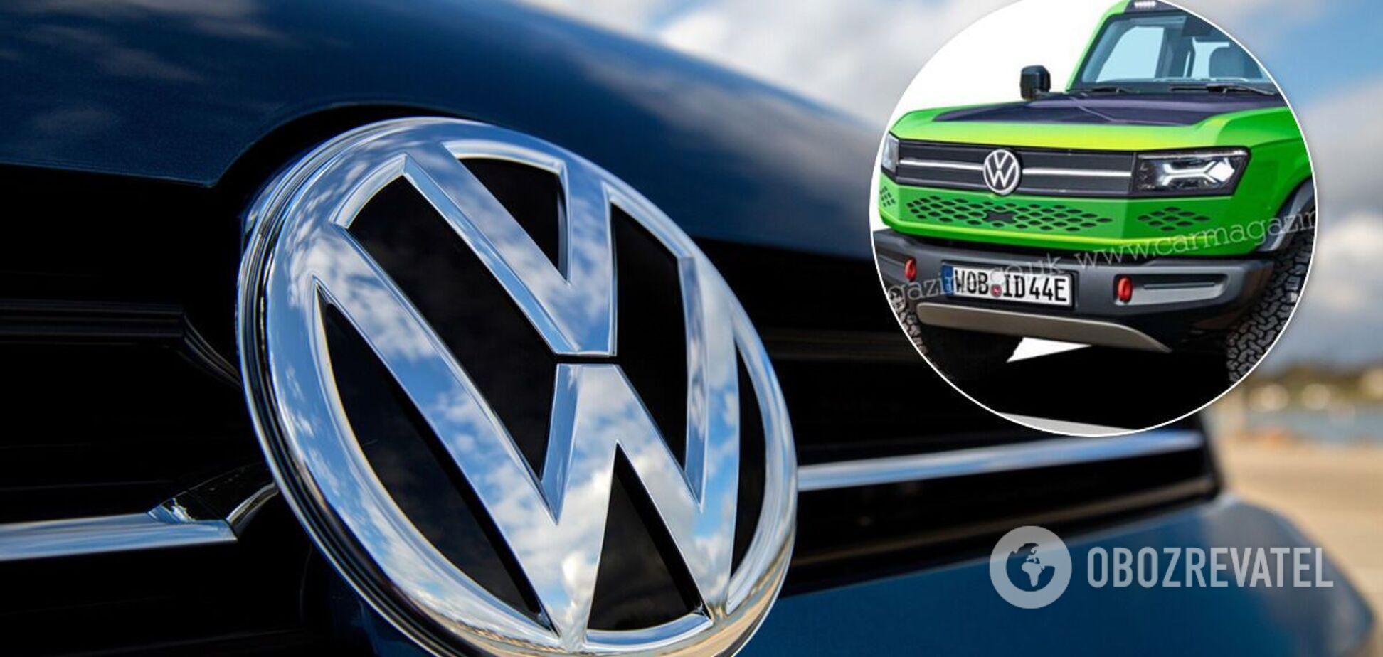 Volkswagen запустит в продажу 'электрический Гелендваген'