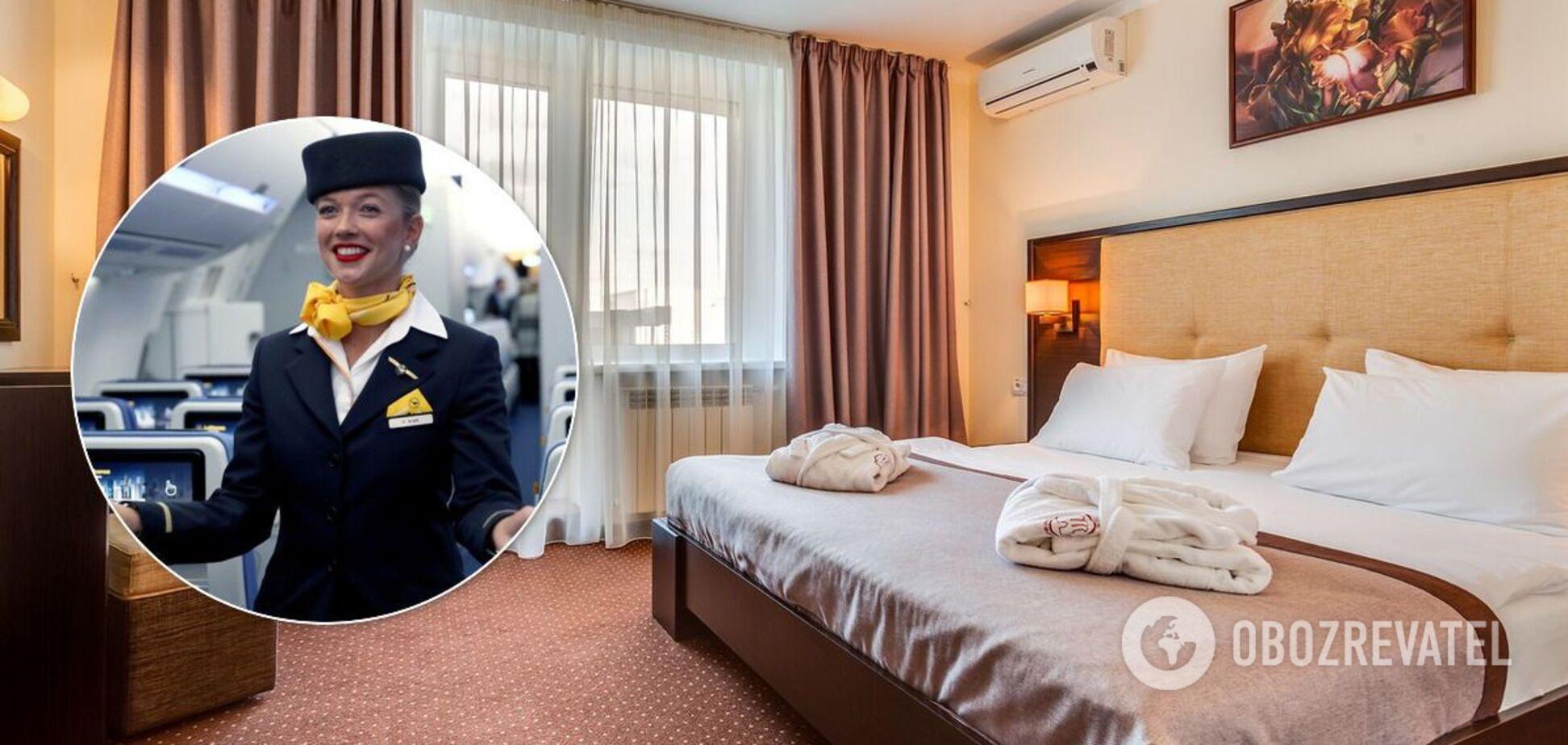 Стюардесса рассказала лайфхаки о заселении в отель и подверглась критике
