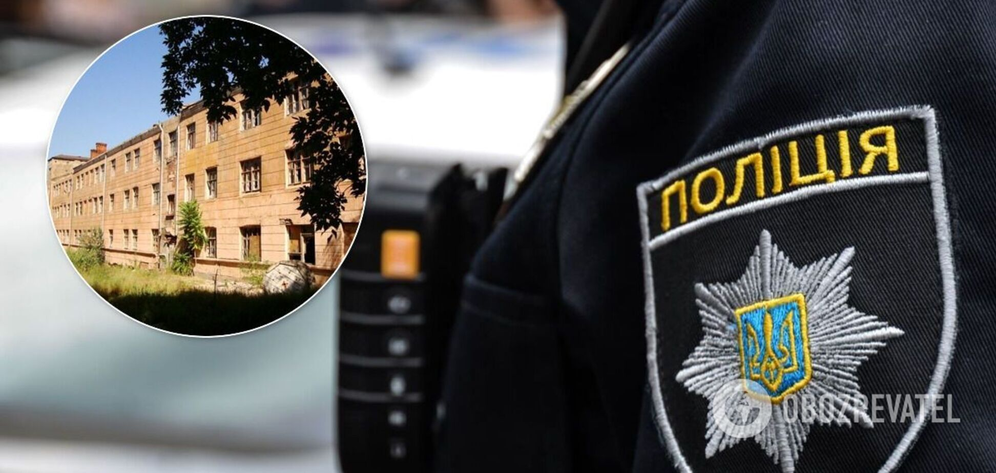 В Днепре возле воинской части нашли тело мужчины. Фото 18+