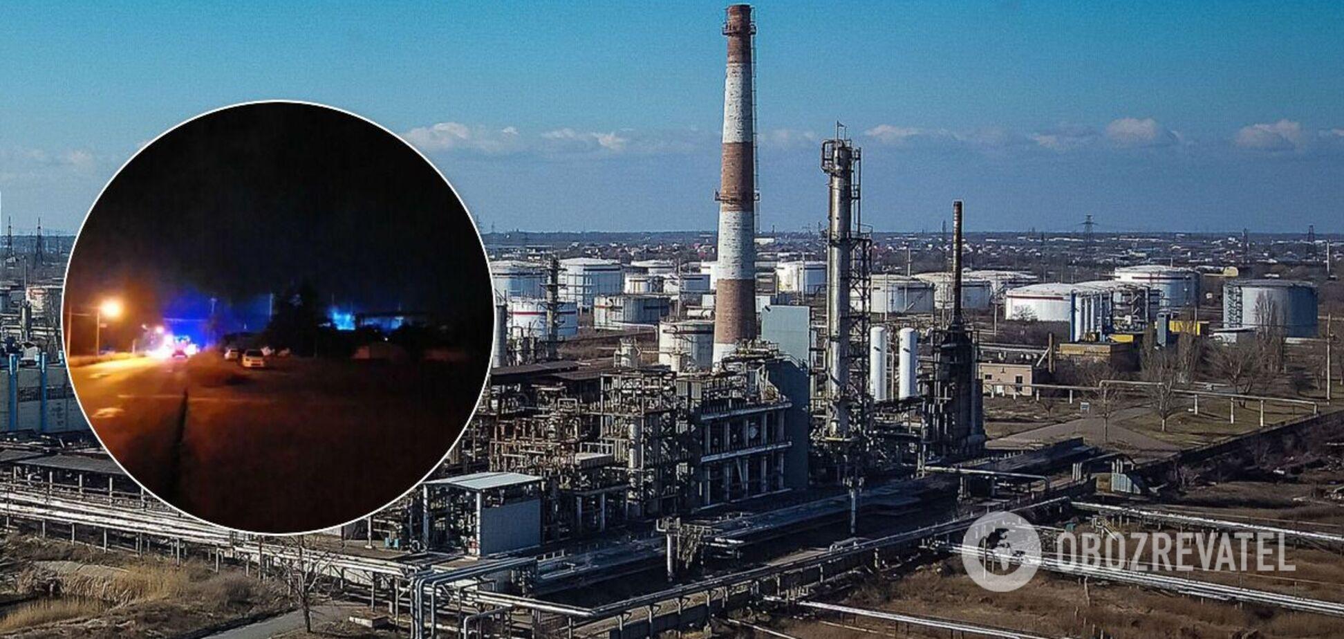 На території Одеського НПЗ стався вибух