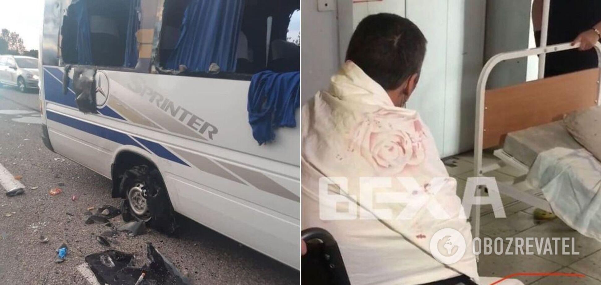 У мережі показали кадри з лікарні з потерпілими під Харковом