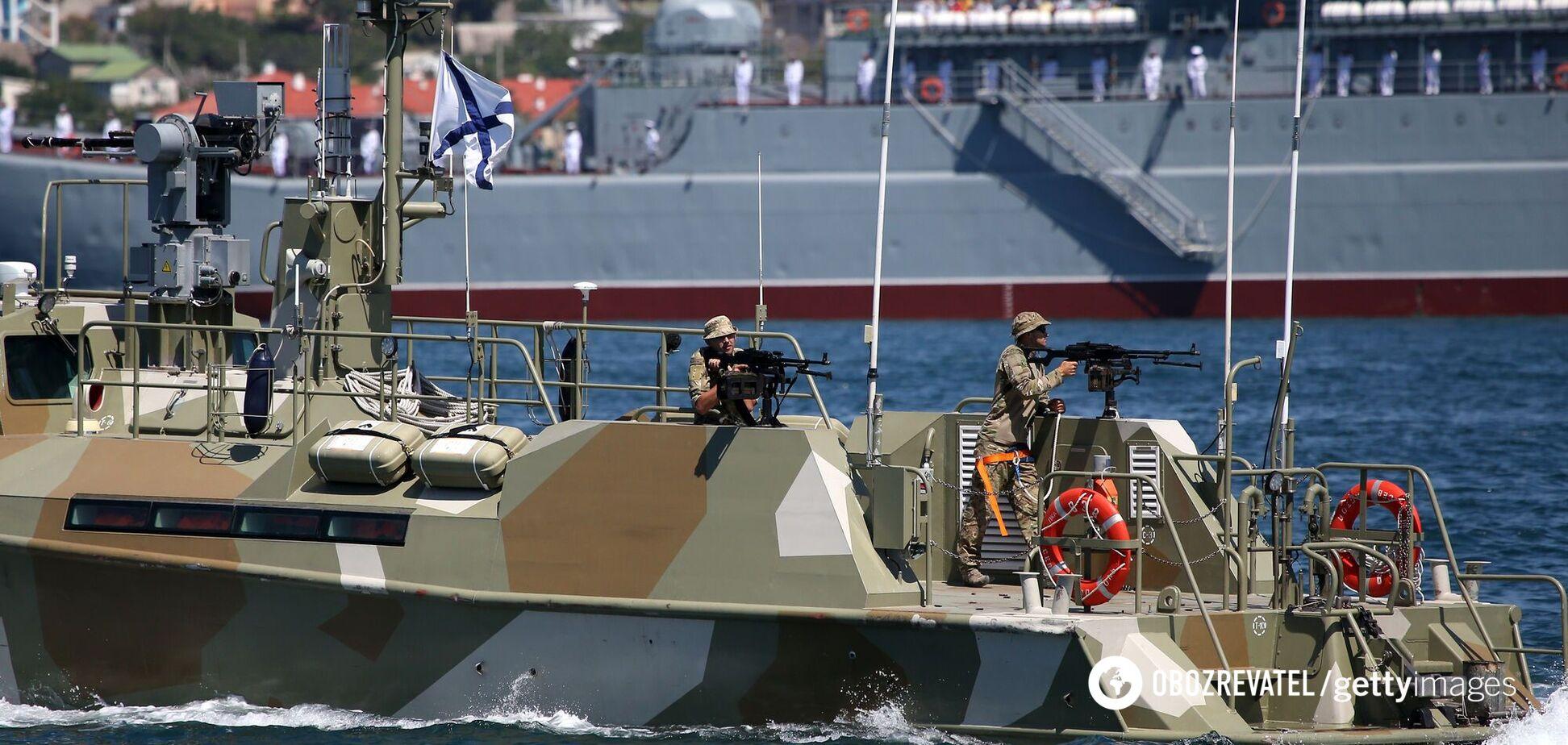 Российские войска в аннексированном Крыму