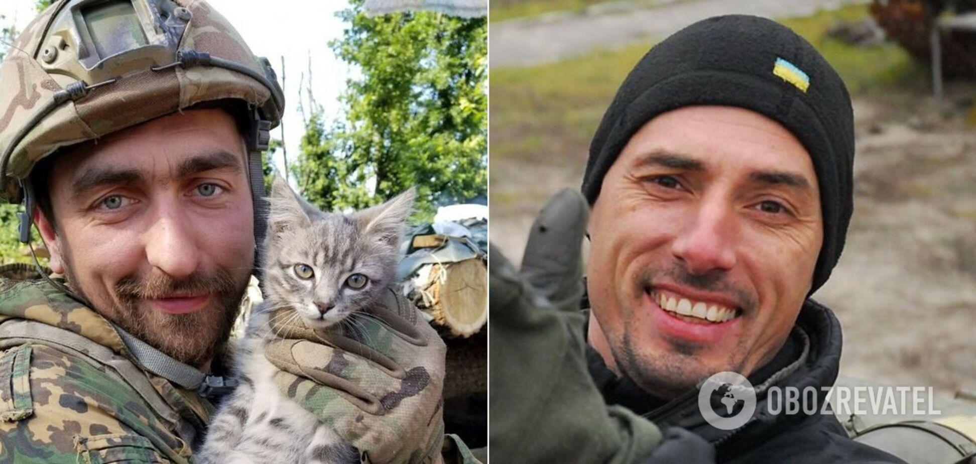 Полковники СБУ Денис Волочаев и Дмитрий Каплунов