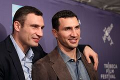 Виталий Кличко показал в сети поддержку брата. Фото: Tochka.net