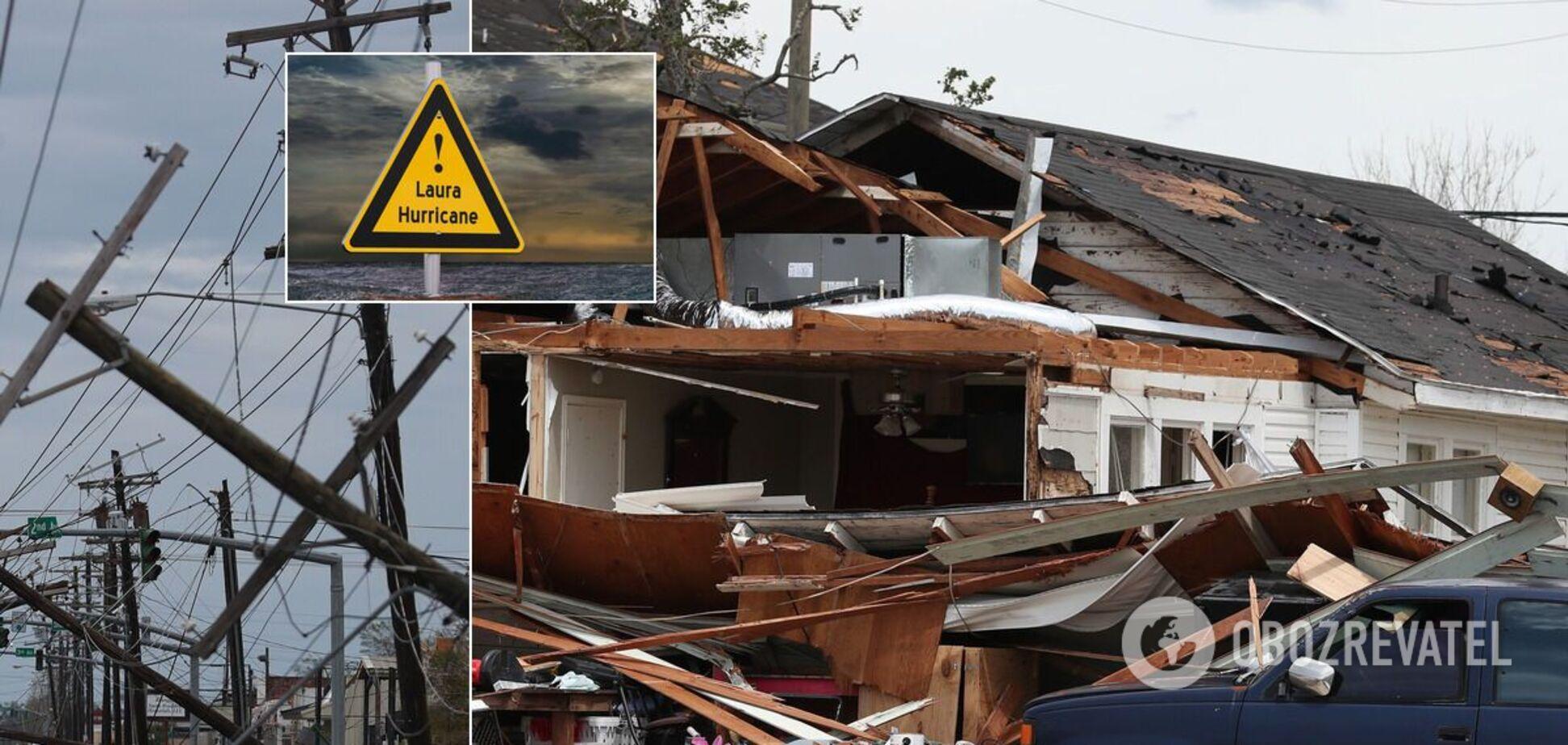 Ураган Лаура в США