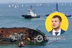 Підняття танкера з акваторії пляжу проводиться без використання коштів держбюджету