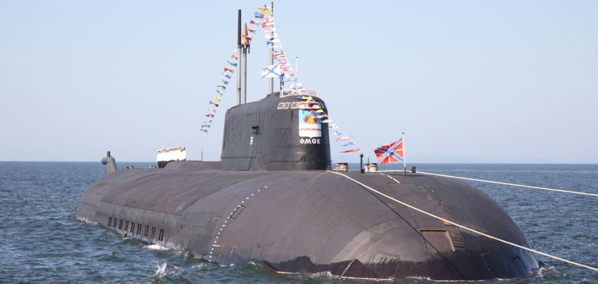 Атомная подлодка Омск всплыла возле Аляски