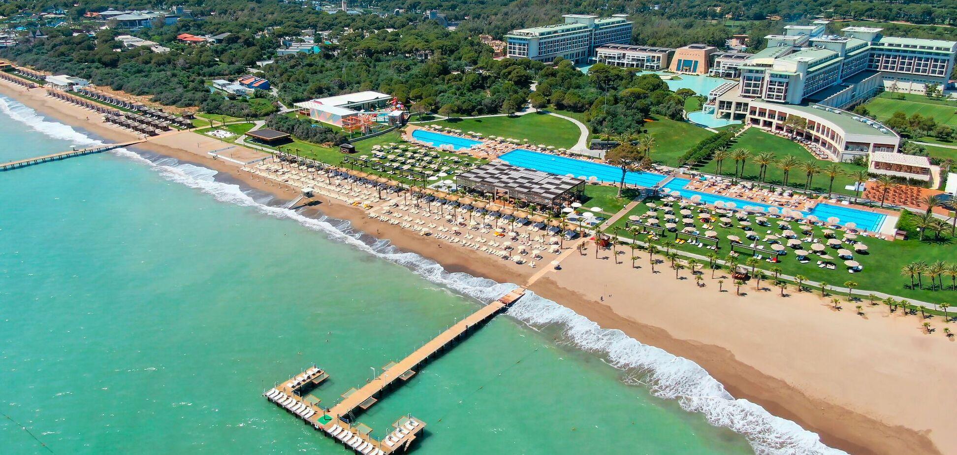 Rixos Premium Belek отдых с комфортом в Анталии