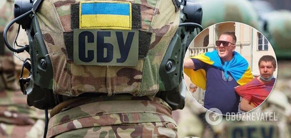 СБУ депортировала немца Дениса Барона