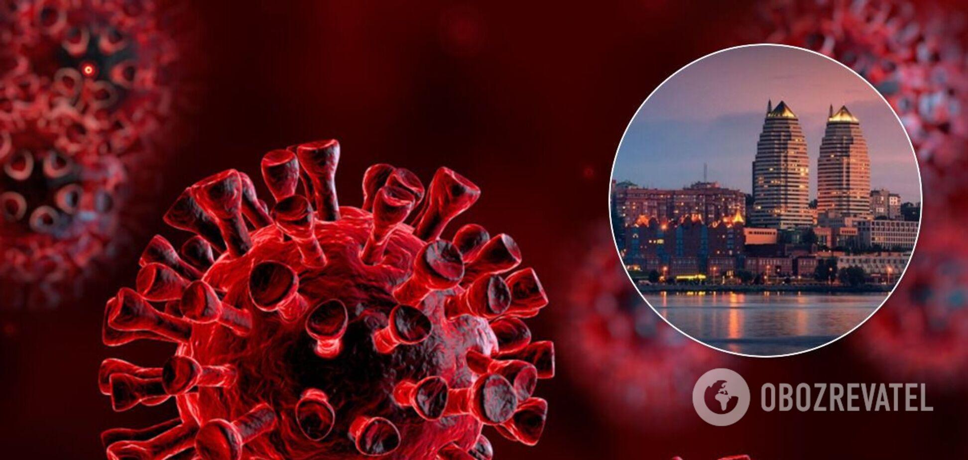 В Днепре зафиксировали резкий всплеск заболеваемости коронавирусом