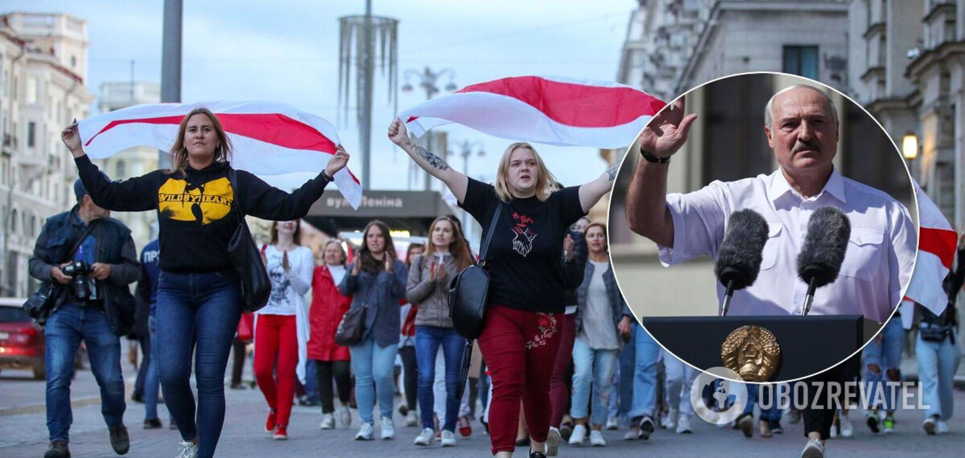 Лукашенко сделал заявление о бело-красно-белом флаге