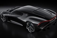На даний момент рекордсменом є Bugatti La Voiture Noire. Фото: Bugatti