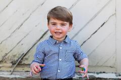 Принцу Луи недавно исполнилось два года