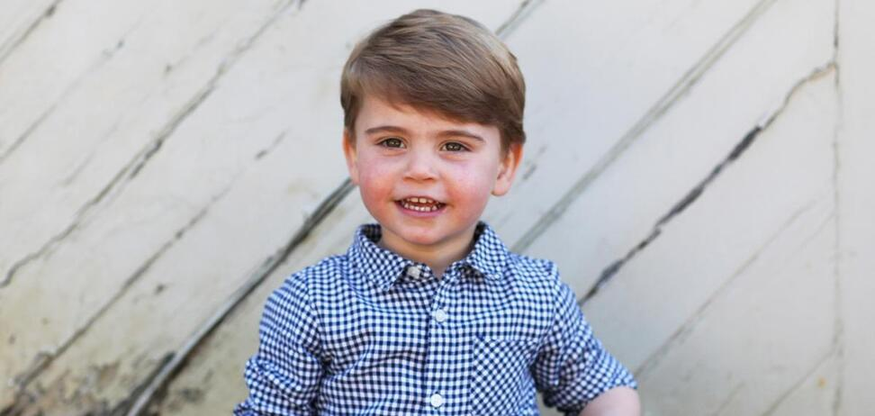 Принцу Луї нещодавно виповнилося два роки