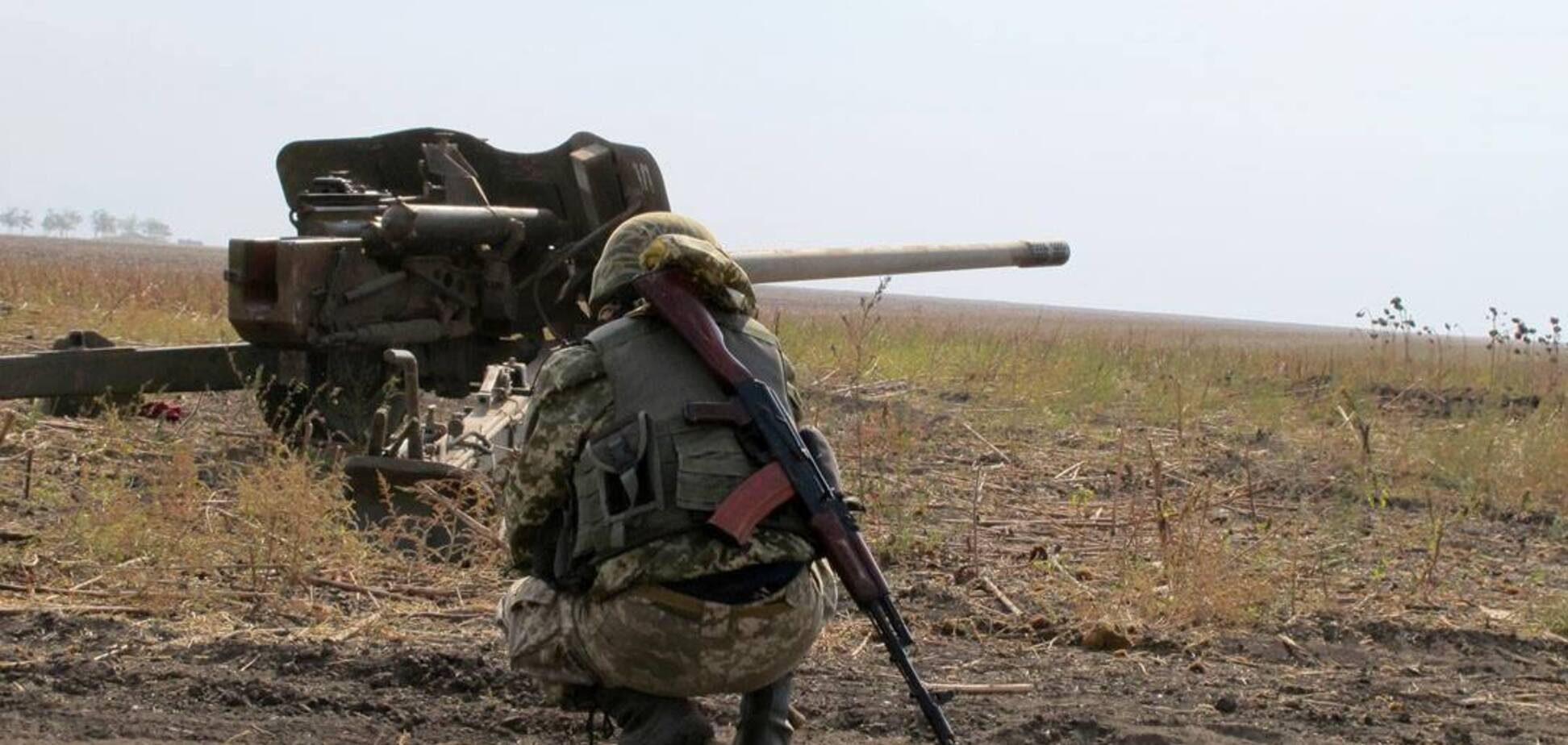 Терористи здійснили два обстріли по позиціях ОС