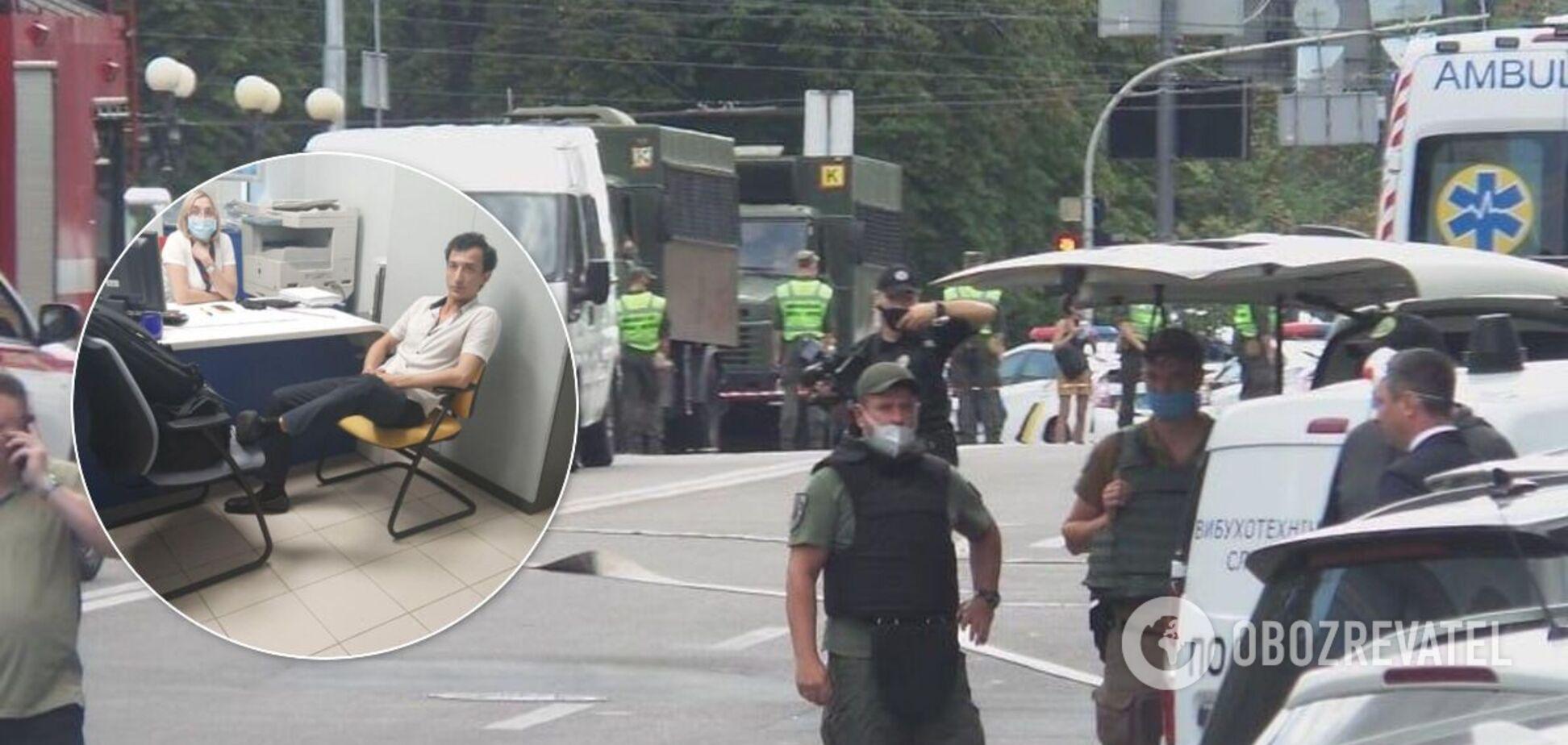 Как выглядит захватчик БЦ 'Леонардо' в Киеве: лицо и личность террориста раскрыли