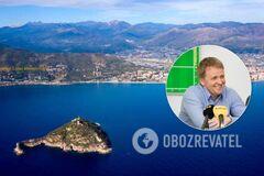 Сын экс-владельца 'Мотор-Сич' Богуслаева приобрел остров в Италии