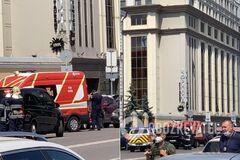 У Києві терорист захопив банк: з'явилися перші фото та відео з місця НП
