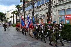 Оккупанты устроили в Крыму День ВДВ для детей