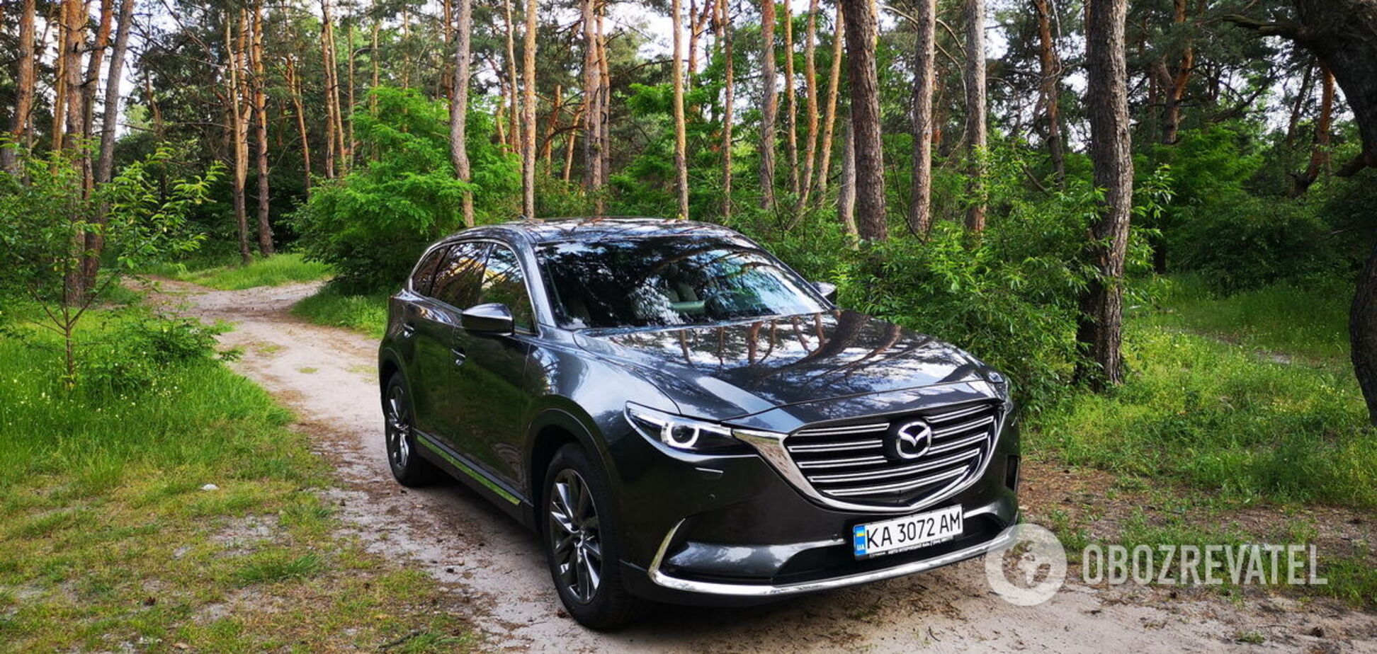 Mazda CX-9: путешествуем с комфортом