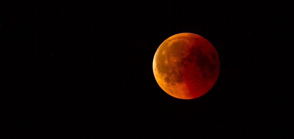 В Україні зняли відео сходу Осетровою Місяця