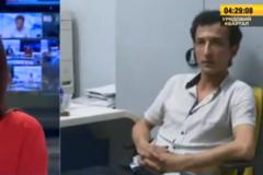 Київський терорист у прямому ефірі озвучив вимоги. Відео