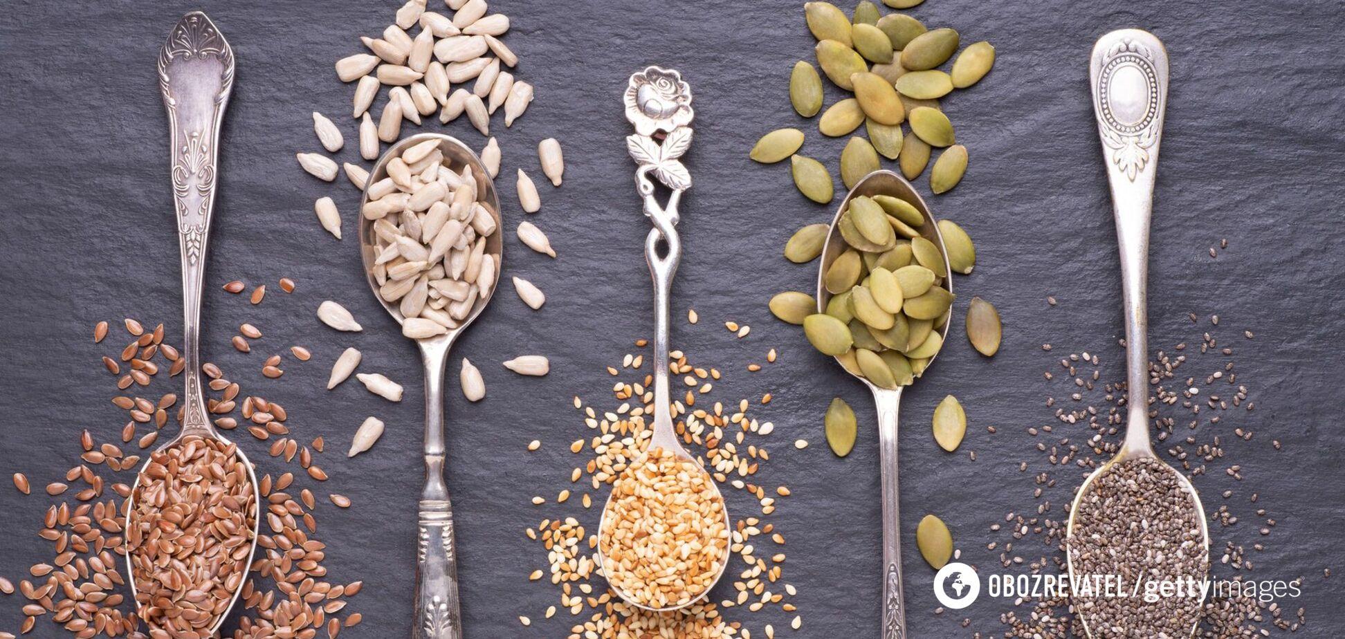 Насіння льону є джерелом ненасичених жирних кислот