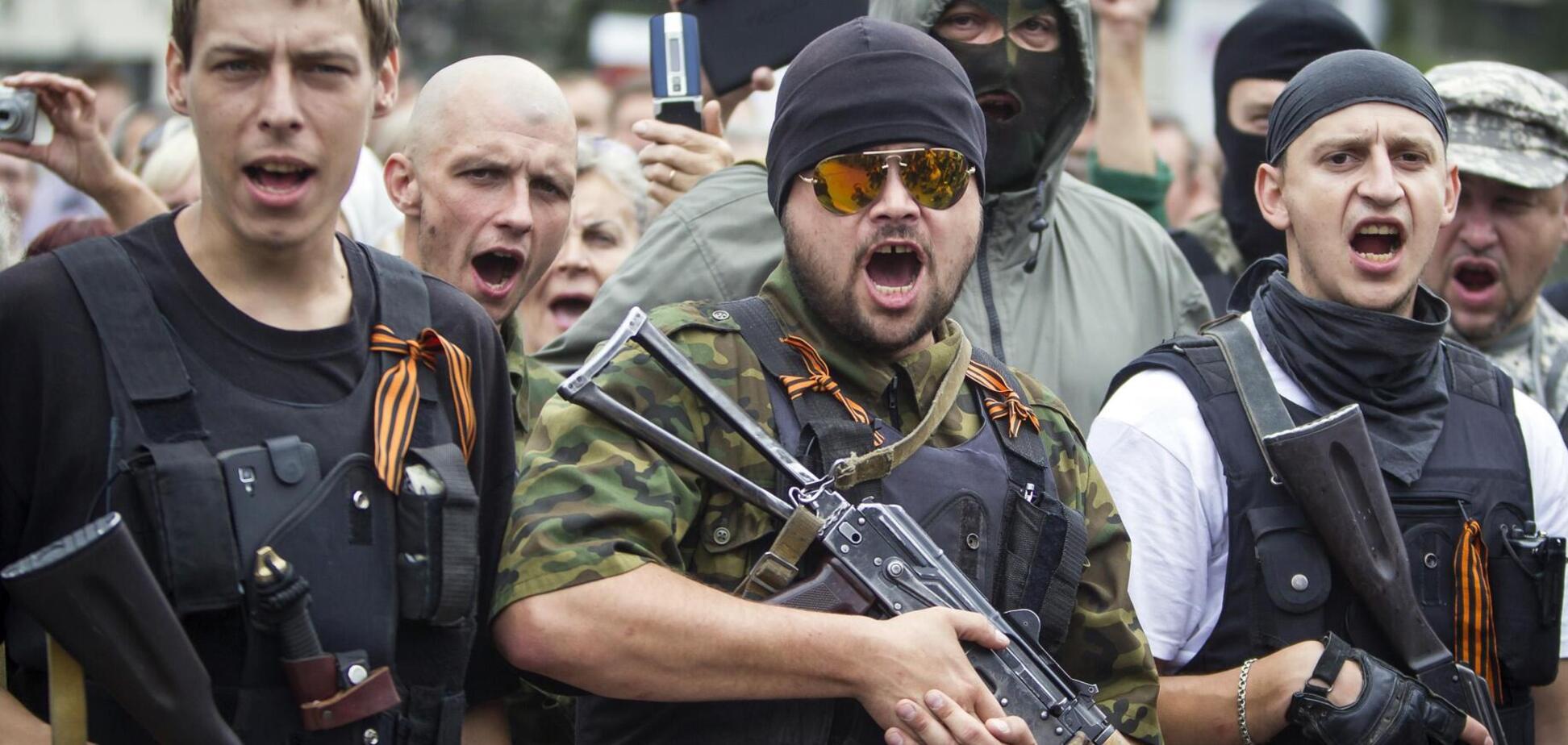 У лавах терористів на Донбасі спостерігається некомплект