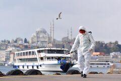 В Турции вспыхнул коронавирус