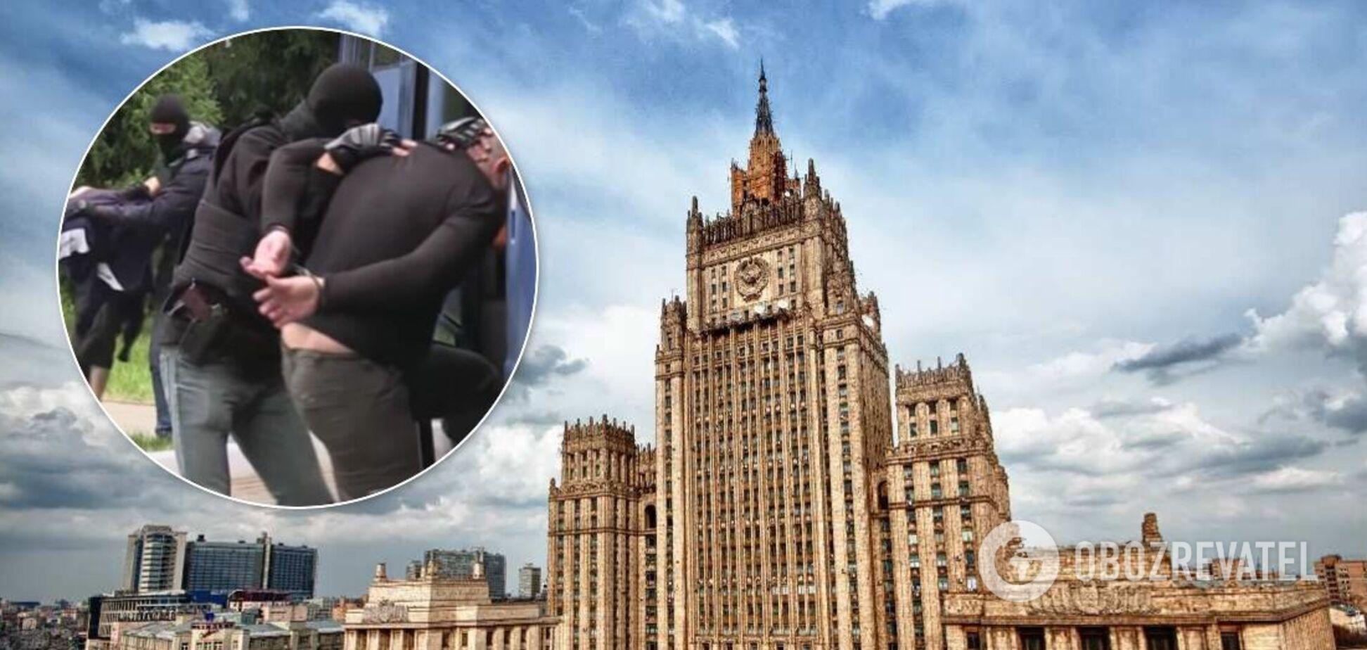 МИД РФ возмущен задержанием наемников ЧВК Вагнера в Беларуси