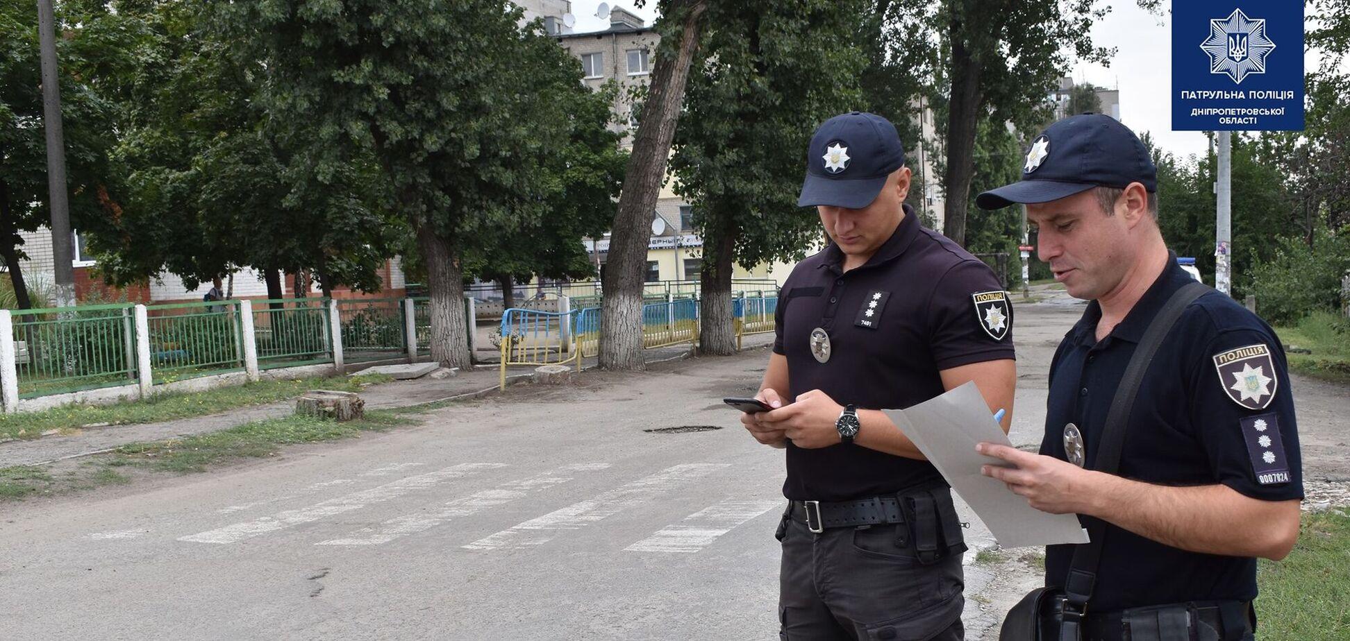 Поліція Дніпра обстежує дороги напередодні навчального року