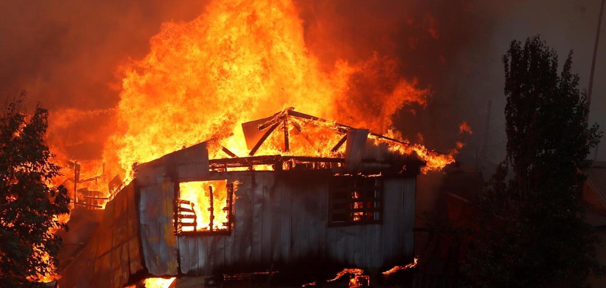 На Черниговщине в пожаре погиб двухлетний ребенок