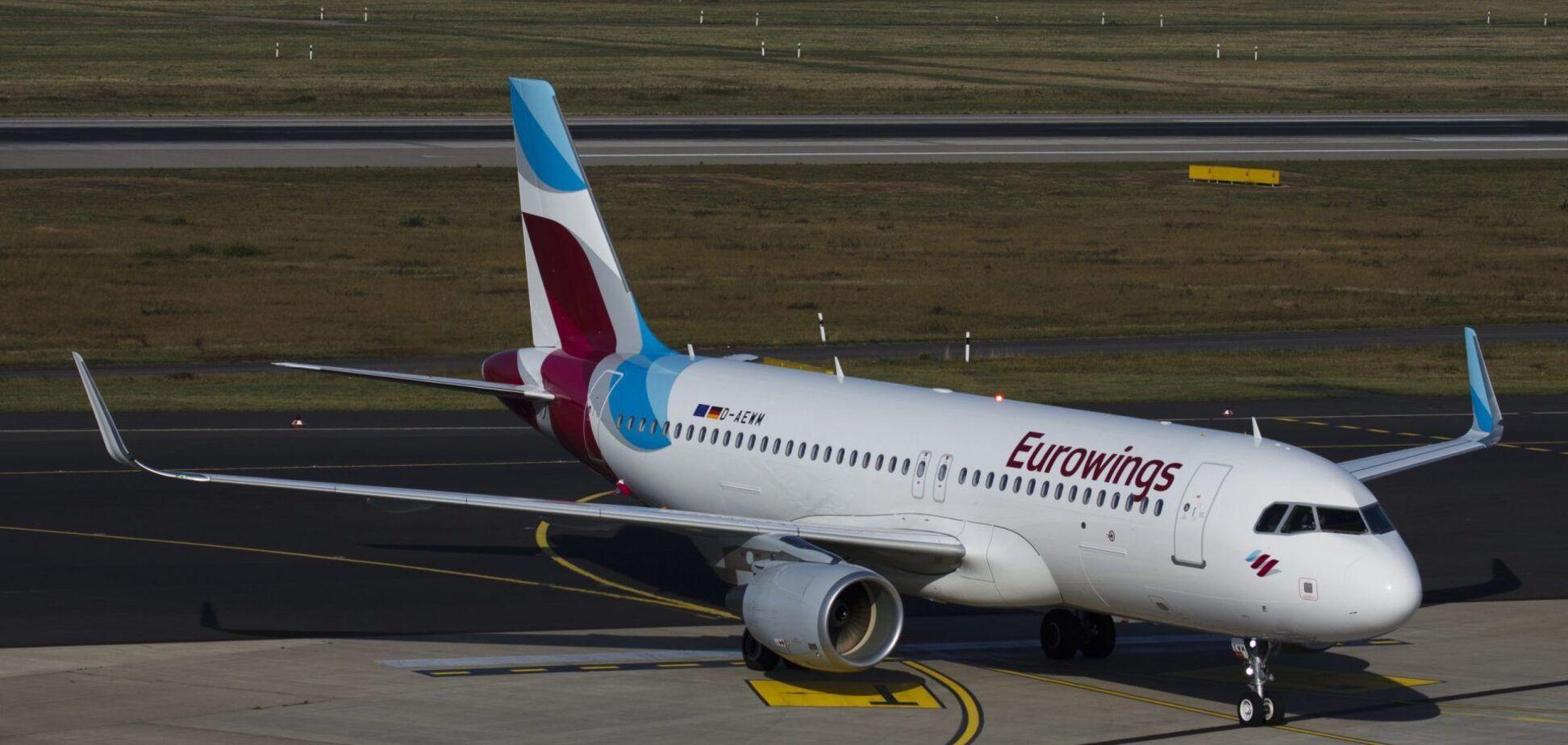 Самолет Eurowings