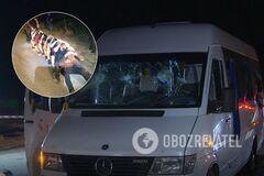 Обстріл людей Киви під Харковом