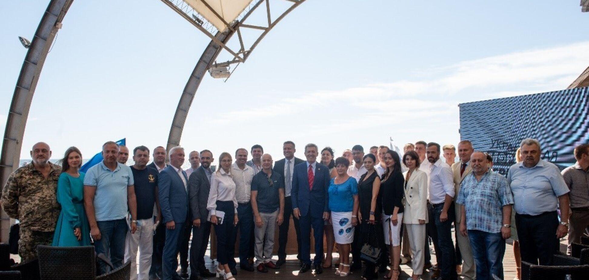 В Одесі відбувся Всеукраїнський з'їзд Української морської партії Ківалова